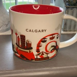 Starbucks Calgary you are here series mug